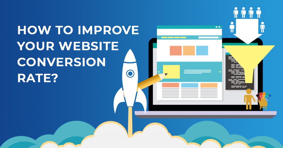 improve website convertion rate